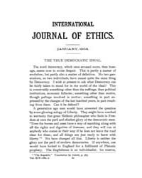 International Journal of Ethics : 1904 J... Volume Vol.14 by Richardson,henry,s.