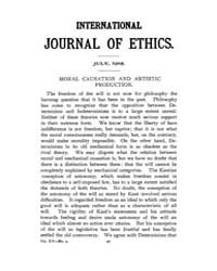 International Journal of Ethics : 1905 J... Volume Vol.15 by Richardson,henry,s.