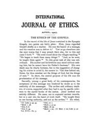 International Journal of Ethics : 1907 A... Volume Vol.17 by Richardson,henry,s.