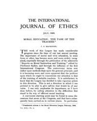 International Journal of Ethics : 1909 J... Volume Vol.19 by Richardson,henry,s.