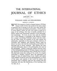 International Journal of Ethics : 1911 J... Volume Vol.21 by Richardson,henry,s.