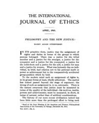 International Journal of Ethics : 1915 A... Volume Vol.25 by Richardson,henry,s.
