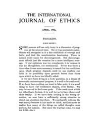 International Journal of Ethics : 1916 A... Volume Vol.26 by Richardson,henry,s.