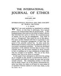 International Journal of Ethics : 1919 J... Volume Vol.29 by Richardson,henry,s.