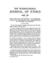 International Journal of Ethics : 1922 A... Volume Vol.32 by Richardson,henry,s.