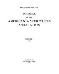Journal (American Water Works Associatio... Volume Vol.1 by