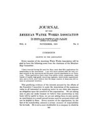 Journal (American Water Works Associatio... Volume Vol.30 by