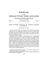 Journal (American Water Works Associatio... Volume Vol.6 by