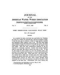 Journal (American Water Works Associatio... Volume Vol.17 by