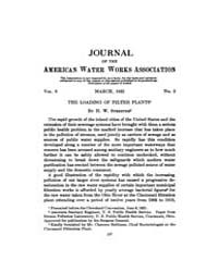 Journal (American Water Works Associatio... Volume Vol.18 by