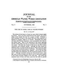Journal (American Water Works Associatio... Volume Vol.20 by