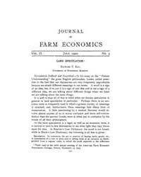 Journal of Farm Economics : 1920 Jul. No... Volume Vol.28 by