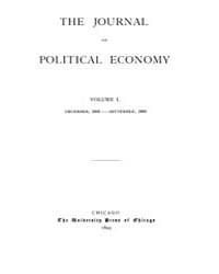 Journal of Political Economy : 1892 Dec.... Volume Vol.41 by Reny, Philip