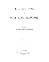 Journal of Political Economy : 1893 Dec.... Volume Vol.41 by Reny, Philip