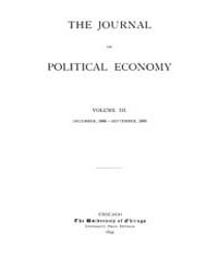 Journal of Political Economy : 1894 Dec.... Volume Vol.49 by Cowan,brian;Elbourne,elizabeth