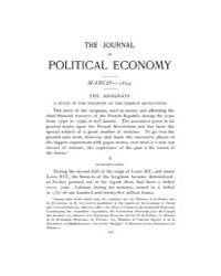 Journal of Political Economy : 1894 Mar.... Volume Vol.50 by Cowan,brian;Elbourne,elizabeth