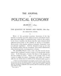 Journal of Political Economy : 1895 Mar.... Volume Vol.51 by Cowan,brian;Elbourne,elizabeth