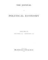 Journal of Political Economy : 1897 Dec.... Volume Vol.35 by Luce,mary,frances