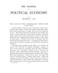 Journal of Political Economy : 1898 Mar.... Volume Vol.36 by Luce,mary,frances