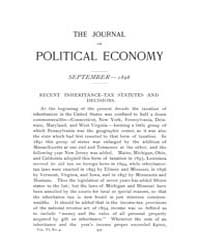 Journal of Political Economy : 1898 Sep.... Volume Vol.36 by Luce,mary,frances