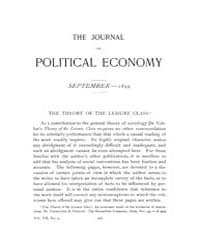 Journal of Political Economy : 1899 Sep.... Volume Vol.36 by Luce,mary,frances
