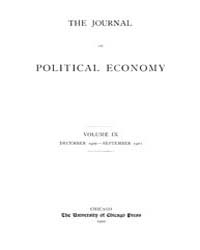 Journal of Political Economy : 1900 Dec.... Volume Vol.37 by Luce,mary,frances