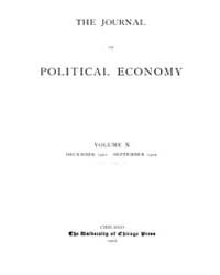 Journal of Political Economy : 1901 Dec.... Volume Vol.38 by Luce,mary,frances