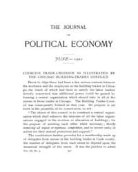 Journal of Political Economy : 1901 Jun.... Volume Vol.37 by Luce,mary,frances