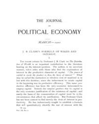 Journal of Political Economy : 1901 Mar.... Volume Vol.38 by Luce,mary,frances