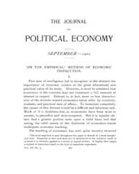 Journal of Political Economy : 1901 Sep.... Volume Vol.38 by Luce,mary,frances