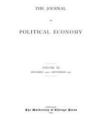 Journal of Political Economy : 1902 Dec.... Volume Vol.38 by Luce,mary,frances