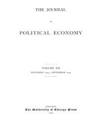 Journal of Political Economy : 1903 Dec.... Volume Vol.39 by Luce,mary,frances