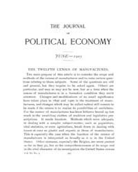 Journal of Political Economy : 1903 Jun.... Volume Vol.39 by Luce,mary,frances