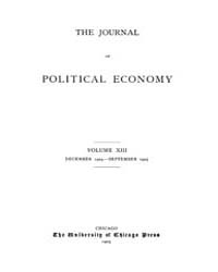 Journal of Political Economy : 1904 Dec.... Volume Vol.1 by Reny, Philip