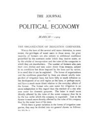 Journal of Political Economy : 1904 Mar.... Volume Vol.2 by Reny, Philip