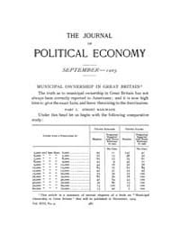 Journal of Political Economy : 1905 Sep.... Volume Vol.3 by Reny, Philip