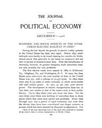 Journal of Political Economy : 1906 Dec.... Volume Vol.3 by Reny, Philip