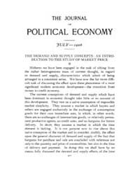 Journal of Political Economy : 1906 Jul.... Volume Vol.4 by Reny, Philip