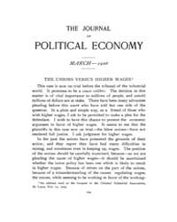 Journal of Political Economy : 1906 Mar.... Volume Vol.5 by Ehrlich,isaac