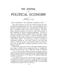 Journal of Political Economy : 1907 Apr.... Volume Vol.1 by Reny,philip