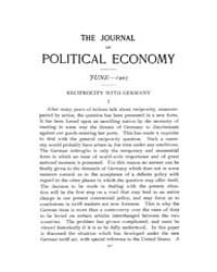 Journal of Political Economy : 1907 Jun.... Volume Vol.1 by Reny,philip