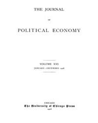Journal of Political Economy : 1908 Jan.... Volume Vol.5 by Reny,philip