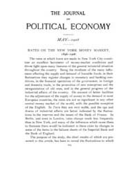 Journal of Political Economy : 1908 May ... Volume Vol.6 by Reny,philip