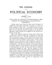 Journal of Political Economy : 1909 Apr.... Volume Vol.5 by Reny,philip
