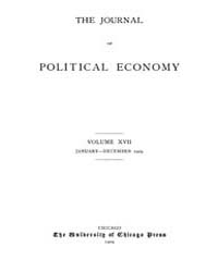 Journal of Political Economy : 1909 Jan.... Volume Vol.6 by Reny,philip