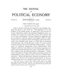 Journal of Political Economy : 1909 Nov.... Volume Vol.7 by Reny,philip