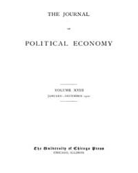 Journal of Political Economy : 1910 Jan.... Volume Vol.10 by Reny,philip