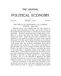 Journal of Political Economy : 1910 Jul.... Volume Vol.9 by Reny,philip