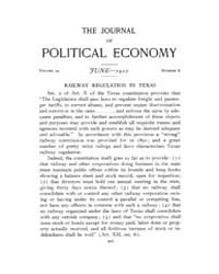 Journal of Political Economy : 1910 Jun.... Volume Vol.9 by Reny,philip