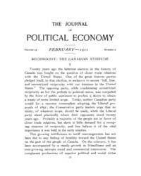 Journal of Political Economy : 1911 Feb.... Volume Vol.11 by Reny,philip